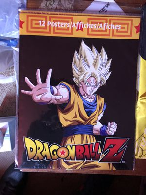 Dragon Ball Z POSTERS NEW SEALED SET for Sale in Los Angeles, CA