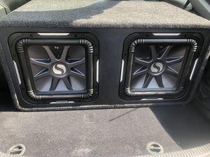 """Kicker S12L7 Car Audio Solobaric L7 Square 12"""" Sub Dual 2 Ohm 1500W for Sale in Manassas, VA"""