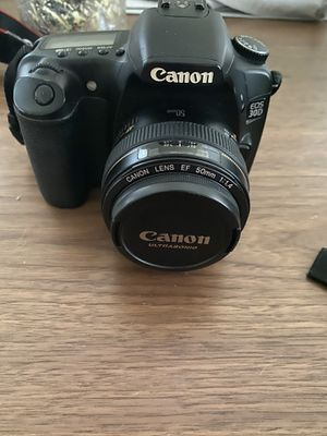 Canon EOS 30D with 2 lenses for Sale in Los Angeles, CA