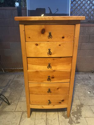 Wooden dresser for Sale in Los Angeles, CA