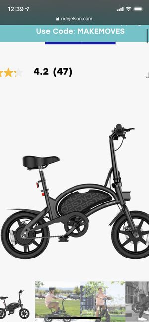 Jetson bolt pro electric bike for Sale in Gaithersburg, MD