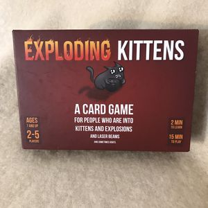 Exploding Kittens Card Game for Sale in Anchorage, AK
