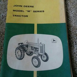 John deer M Seres Manual Tractor for Sale in Valparaiso, IN
