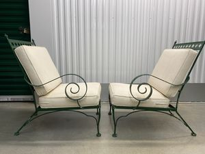 Mid Century 3-Piece Wrought Iron Patio Furniture for Sale in McLean, VA