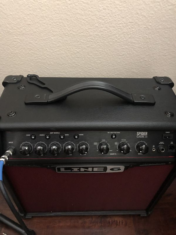 Line 6 Spider Classic 15 Red Amp