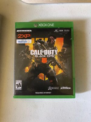 Call of Duty: Black Ops 4 Xbox one edition for Sale in Dearborn, MI