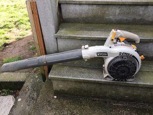 Ryobi leaf blower two stroke, soplador de hojas for Sale in Seattle, WA