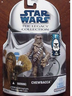 Star Wars - Chewbacca - 1st Day Issue - Hasbro - Disney - Legacy Collection - Mint Condition - Brand New - Exclusive Toys for Sale in Hawthorne, CA