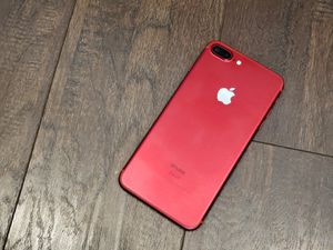 NEW iPhone 7Plus 128gb (PRODUCT) RED Limited Edition with LIQUID GLASS screen for Sale in Thornton, CO