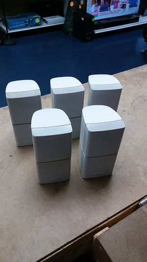 Lot Of 5 - Bose Double Cube Speakers for Sale in Fort Lauderdale, FL