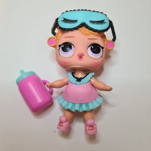 LOL Surprise BABY DOLL Babydoll Curlers Redhead Sleepover Club MGA 2017 for Sale in St. Petersburg, FL