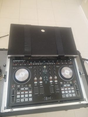 Traktor Kontrol S4 MK2 w/Flight Case for Sale in West Palm Beach, FL