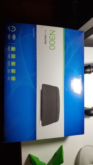 Linksys N300 wifi router for Sale in Homestead, FL