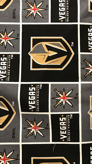 Las Vegas Golden Knights fabric $18 per yard for Sale in Las Vegas, NV