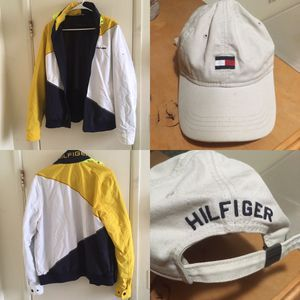 Tommy Hilfiger jacket + hat for Sale in San Diego, CA