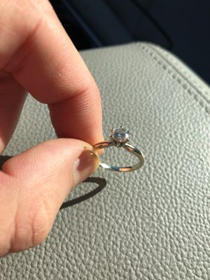 5.1mm 1/2 Karrot diamond white gold band for Sale in Old Town, ME