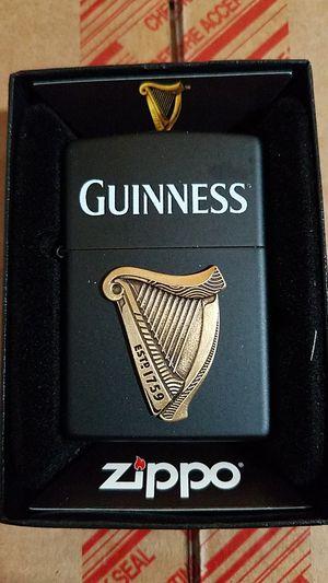 Zippo Guinness harp emblem black matte 29676 for Sale in Los Angeles, CA
