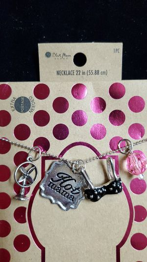Blue Moon Beads Charm Necklace for Sale in Tustin, CA