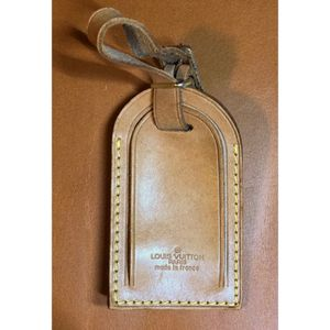 UNISEX Authentic Louis Vuitton Luggage Bag ID Tag for Sale in Walnut, CA