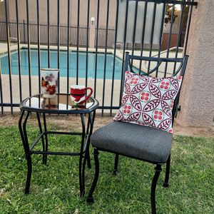 Patio Table and Chair, Outdoor Furniture for Sale in Scottsdale, AZ