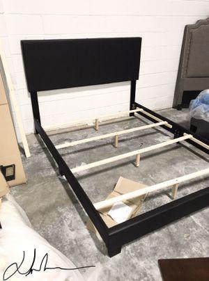 queen size espresso bed frames for Sale in Atlanta, GA