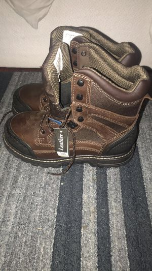 Craftsmen steel toe boots wide fit for Sale in Garden Grove, CA