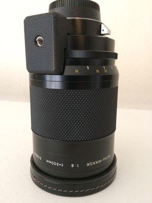 Nikon 500mm f/8 Reflex-NIKKOR-C with TC-14B for Sale in Tulsa, OK