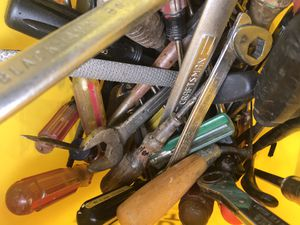 Bucket of random used tools for Sale in Cockeysville, MD