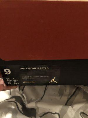 Air Jordan Retro 12's (All Red) for Sale in Las Vegas, NV