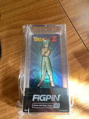 Nycc 2019 figpin Bulma with baby trunks exclusive dragonball z for Sale in Bedford, TX