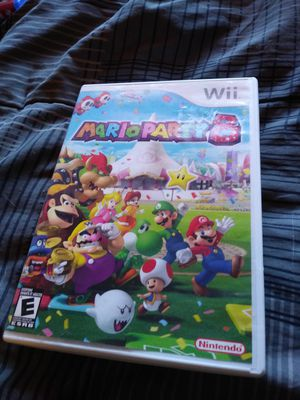 CASE ONLY NO GAME Mario Party 8 Nintendo Wii NO GAME for Sale in Henderson, NV