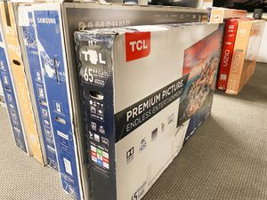 """TCL 65"""" 4K HDR Roku Smart LED TV for Sale in Norcross, GA"""
