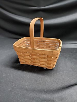 Longaberger basket w/protector for Sale in Tacoma, WA