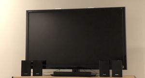 Sony 46 inch 1080p TV with surround sound system for Sale in Issaquah, WA