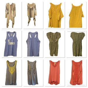 Woman's clothing lot of 6 tops size Small for Sale in Tumwater, WA