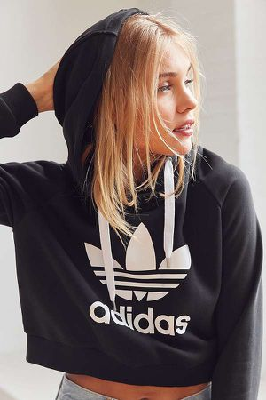 Adidas cropped hoodie for Sale in Rancho Cucamonga, CA