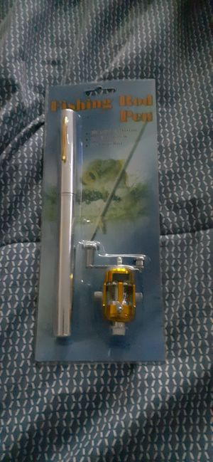 Pen/fishing pole for Sale in Pittsburg, CA