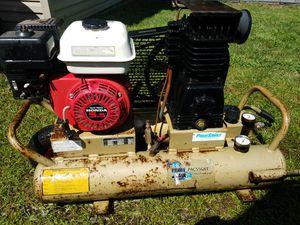 Industrial primesource gas air compressor 125 psi 8 gallon for Sale in Toms River, NJ