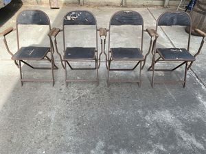 Antique folding chairs for Sale in San Jose, CA