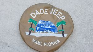 Jeep TJ or YJ TIRE COVER fit 1996 to 2003 and other years for Sale in Miami, FL