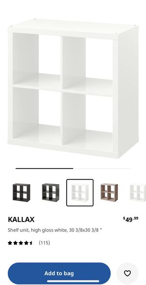 IKEA Kallax 2x2 for Sale in Seattle, WA