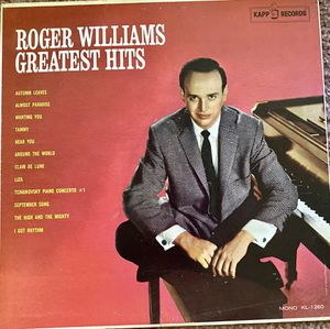 "Roger Williams ""Greatest Hits"" Vinyl Album $12 for Sale in Ringgold, GA"