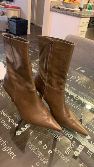 Calf leather boots from Brazil for Sale in Riverside, CA