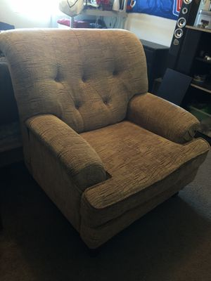 Sofa Chair & Ottoman for Sale in Menifee, CA