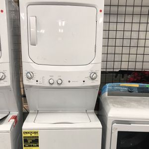 NEW SCRATCH AND DENT LAUNDRY CENTER GE for Sale in Hanover, MD