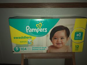 PAMPERS DIAPERS $35 for Sale in Wauchula, FL