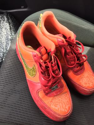 """Rare Doenbercher Nike Air Force 1 """"Tony Signarelli"""" for Sale in Houston, TX"""