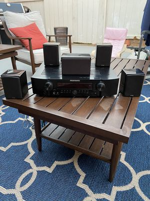 For sale marantz small footprint receiver 5.1 and energy micro surround system with subwoofer (5.1) for Sale in San Diego, CA