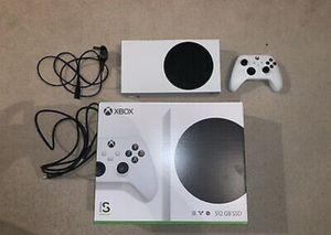 Microsoft Xbox Series S 512gb video game console: white for Sale in Pueblo, CO