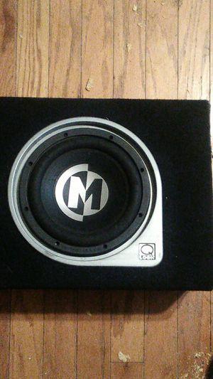 Memphis Audio Mojo 10 in dual logic box for Sale in Murfreesboro, TN